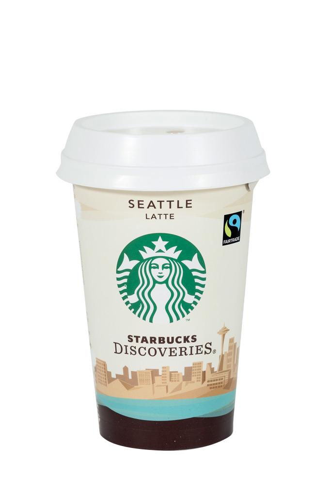 starbucks discoveries seattle latte