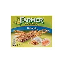 FARMER - Barres aux céréales Crunchy Natural