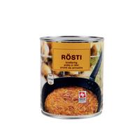 SUISSE GARANTIE - Rösti prêt à rotir (conserve)
