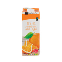 QUALITÉ & PRIX - 100% fruits orange