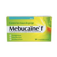 NOVARTIS - Mebucaïne