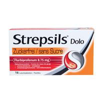 STREPSILS - Dolo sans sucre
