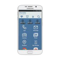 WISER SIMPLE LAUNCHER - via Samsung Galaxy S6 (blue)