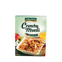 CrownField - Crunchy Muesli With mixed fruits