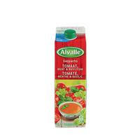 ALVALLE - Gazpacho tomage, menthe et basilic